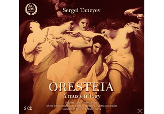 Kolomiytseva/Belorussian State Bolshoi Theatre - Oresteia: A Music Trilogy - (CD)