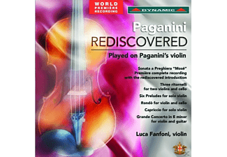 Luca Fanoni - Paganini Rediscovered [CD]