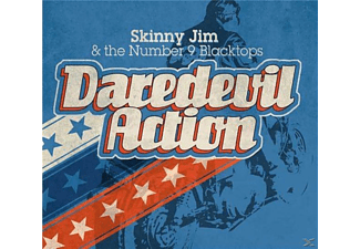 Skinny Jim & The Number 9 Blacktops - Daredevil Action - (CD)