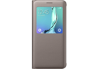 SAMSUNG S-View Cover GS6 Edge+ - Guld
