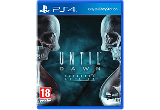 Until Dawn Extended Edtion PS4
