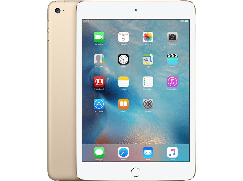 APPLE iPad mini 4 Wi-Fi 128GB Gold τηλεφωνία   πλοήγηση   offline tablets ios tablets laptop  tablet  computing  ta