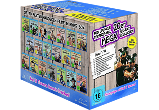 Bud Spencer & Terence Hill - 20er Mega Blu-ray Collection - (Blu-ray)