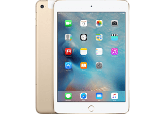 APPLE iPad mini 4 Wi-Fi + Cellular 32GB Gold - (MNWG2RK/A)