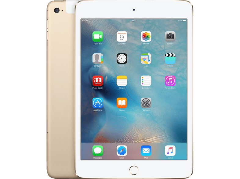 APPLE iPad mini 4 Cellular & Wi-Fi 128GB Gold τηλεφωνία   πλοήγηση   offline tablets ios tablets laptop  tablet  computing  ta