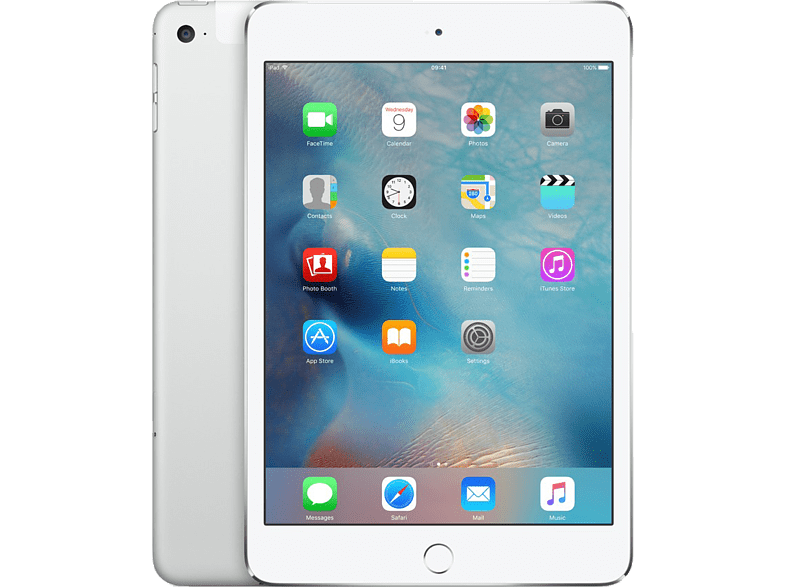 APPLE iPad mini 4 Cellular & Wi-Fi 128GB Silver τηλεφωνία   πλοήγηση   offline tablets ios tablets laptop  tablet  computing  ta