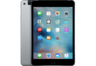 APPLE iPad mini 4 Wi-Fi + Cellular 128GB Space Gray - (MK762RK/A)