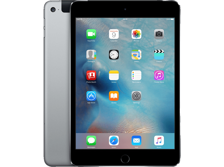APPLE iPad mini 4 Cellular & Wi-Fi 128GB Space Gray τηλεφωνία   πλοήγηση   offline tablets ios tablets laptop  tablet  computing  ta