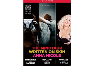 VARIOUS, Orchestra And Chorus Of The Royal Opera House - The Minotaur/Written On Skin/Anna Nicole - (DVD)