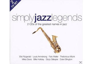 Simply Jazz Legends - Simply Jazz Legends (2cd) - (CD)