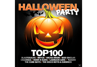 VARIOUS - Halloween Party Top 100 - (CD)