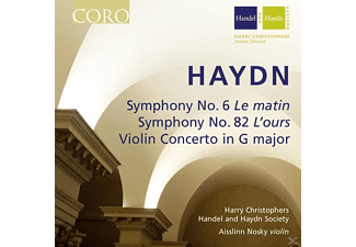 Harry Christophers, Händel & Haydn Society - Sinfonien 6 & 82/Violinkonzert In G-Dur - (CD)