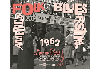 John Lee Hooker, T-Bone Walker, Sonny Terry & Brow - American Folk Blues Festival Live In Paris 20 Octo [CD]