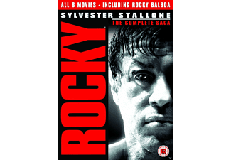 Rocky - The Complete Saga DVD