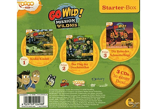 Go Wild!-Mission Wildnis - Starter-Box - (CD)