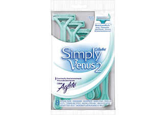 GILLETTE Simply Venus2, 8-pack