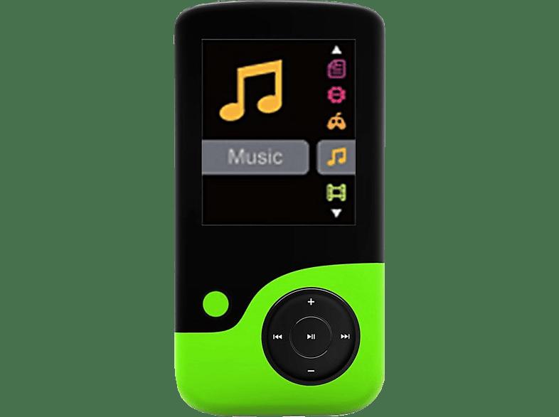 CRYPTO MP1800 8GB Black/ Green - (W006301) εικόνα   ήχος   offline φορητός ήχος ipod  mp3  mp4 τηλεόραση   ψυχαγωγία ήχος i