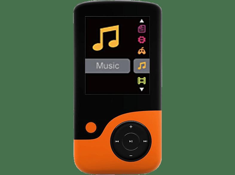 CRYPTO MP1800 8GB Black/ Orange - (W006303) εικόνα   ήχος   offline φορητός ήχος ipod  mp3  mp4 τηλεόραση   ψυχαγωγία ήχος i