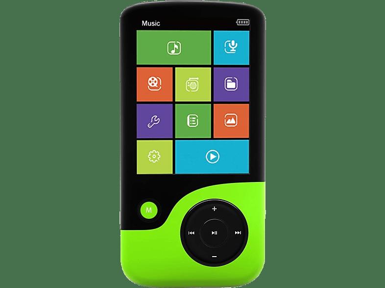 CRYPTO MP2400 8GB Black/ Green - (W006305) εικόνα   ήχος   offline φορητός ήχος ipod  mp3  mp4 τηλεόραση   ψυχαγωγία ήχος i