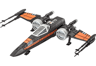 REVELL 06750 Build & Play Poe's X-Wing Fighter Schwarz, Orange