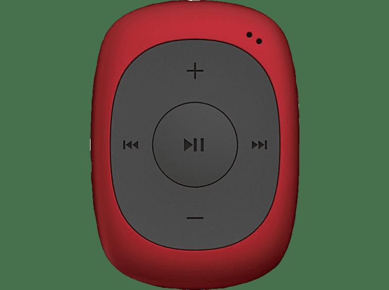 CRYPTO MP300 4GB Red - (W006295) εικόνα   ήχος   offline φορητός ήχος ipod  mp3  mp4 τηλεόραση   ψυχαγωγία ήχος i