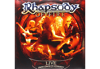 Rhapsody Of Fire - Live - From Chaos To Eternity (Ltd. Gatefold) [Vinyl]