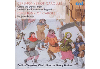 Nancy Hadden, Psallite Women's Choir - Ceremony Of Carols - (CD)