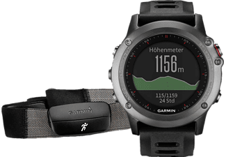 GARMIN Fenix 3 Performer Bundle Gray- (010-01338-11)