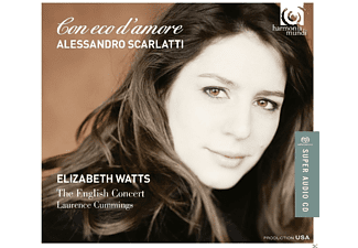 Elizabeth Watts, VARIOUS - Con Eco D'amore - (CD)