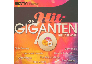 VARIOUS - Die Hit Giganten-Hits Der 60er - (CD)
