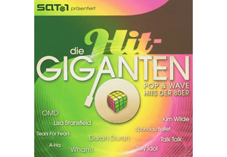 VARIOUS - Die Hit Giganten-Pop & Wave [CD]