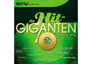 VARIOUS - Die Hit Giganten-Disco Hits [CD]