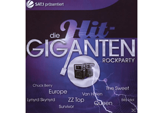 VARIOUS - Die Hit Giganten-Rockparty - (CD)