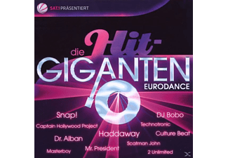 VARIOUS - Die Hit Giganten-Eurodance - (CD)