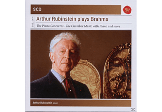VARIOUS - Rubinstein Plays Brahms-Sony Classical Masters [CD]