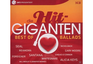 VARIOUS - Die Hit Giganten-Best Of Ballads [CD]