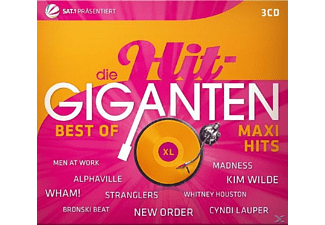 VARIOUS - Die Hit Giganten Best Of Maxi Hits - (CD)