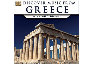 VARIOUS - Discover Music From Greece With Arc [CD]