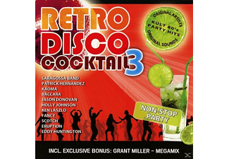 VARIOUS - Retro Disco Koktél 3 - (CD)