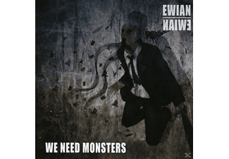 Ewian - We Need Monsters [CD]