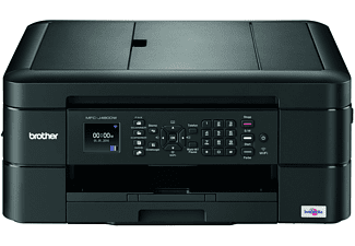 BROTHER MFC-J480DW, 4-in-1 Tinten-Multifunktionsdrucker, Schwarz