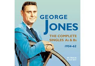 George Jones - The Complete Singles As & Bs 1954-62 - (CD)