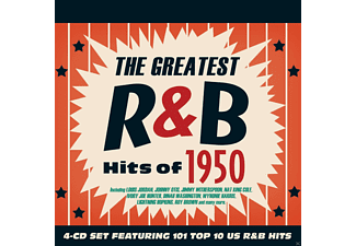 VARIOUS - The Greatest R&B Hits Of 1950 [CD]