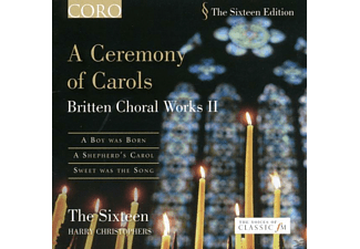 The Sixteen, Sixteen,The/Christophers,Harry - A Ceremony Of Carols - (CD)