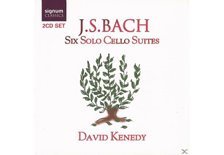 David Kenedy - Bach: SIX SOLO CELLO SUITES - (CD)