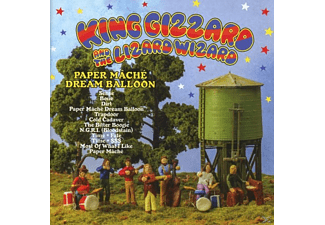King Gizzard, Wizard Lizard - Paper Maché Dream Balloon - (CD)
