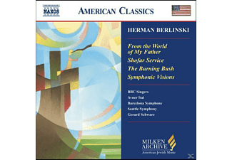 Herman Berlinski - From The World Of My Father/+ - (CD)