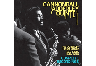 Cannonball Adderley - Complete Recordings With Nat Adderley, Junior - (CD)