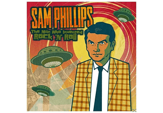 SAM.=VARIOUS= Phillips - The Man Who Invented Rock'n'roll - (Vinyl)