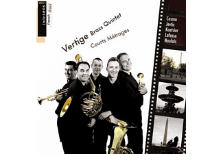 Vertige Brass Quintet - Courts métrages - (CD)